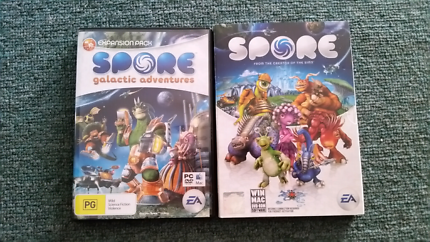 Spore + Galactic Adventures Expansion PC Game