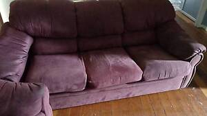 3 seat lounge with two single chairs Rosetta Glenorchy Area Preview