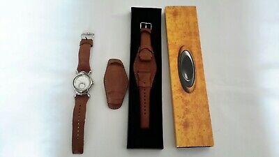 Oakley Saddleback Watch Womens Brown Leather/ Extra New (Oakley Womens Watches)