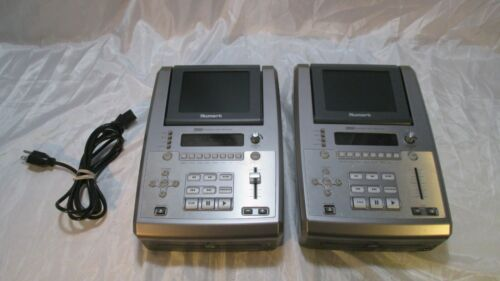 Numark VJ01 Tabletop DVD CD Video Content Player With Monitor Screen Lot of 2