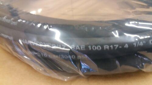 """100R17-4 Hydraulic Hose 1/4"""" ID 26"""