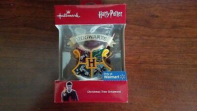 MIB Hallmark 2018 Harry Potter HOGWARTS Ornament - FREE SHIPPING