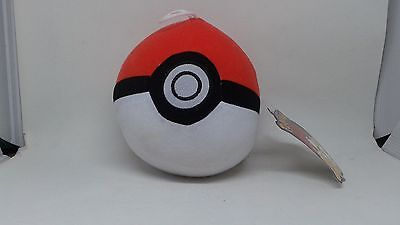 Toy Factory 6  Poke Ball Plush Pokemon   New With Official Tag  Pokeball Style