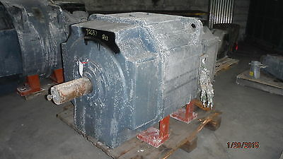 900 HP Reliance Electric Motor, 775 RPM, B843AT Frame, DPFV, 600 V