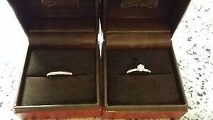 Engagement and Wedding Ring Bridal Set Canberra City North Canberra Preview