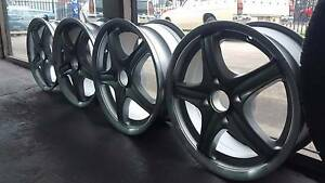 Nissan Skyline NEW mag alloy wheels Edwardstown Marion Area Preview
