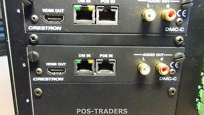 Crestron DMC-C-DSP Digital Media Input HDbaseT Card PULLED FROM: DM-MD16X16