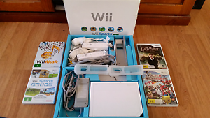 Wii Console RVL-001 in Perfect Condition Linden Park Burnside Area Preview