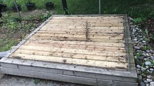 Shed Foundation Deck || NEW ||