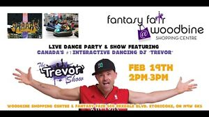 Family day weekend at Fantasy Fair with Interactive DJ Trevor