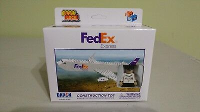 FEDEX EXPRESS BEST LOCK CONSTRUCTION TOY NEW MADE BY DARON 55 +