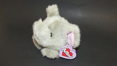"""Puffkins Collection Elly The Gray Elephant Plush 4"""" Stuffed Animal Swibco NWT"""