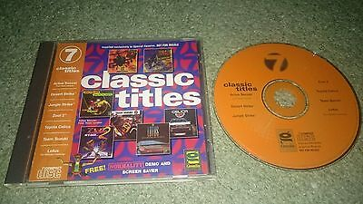 Classic Titles PC Games CD Lotus Nuclear Strike Desert Strike Zool Celica Suzuki