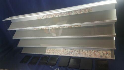"""Lot 4 Showcase-Express Interlocking Display Case Series 3000 4""""x5""""x4"""