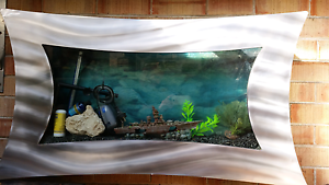 Fish tank wall mounted Melville Melville Area Preview