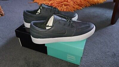 Nike Zoom Janoski RM Crafted Trainers Uk 8 Eu 42.5 Anthracite/Anthracite