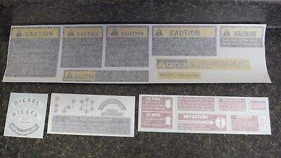 International Farmall 766 966 1066 1466 1566 1468 1568 Chassis Decals