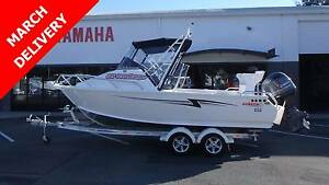 2017 STACER 589 OCEAN RANGER + YAMAHA 130HP FOUR STROKE *NEW* Boondall Brisbane North East Preview