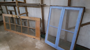 Door,Old window, gate and steal fencing Queanbeyan Queanbeyan Area Preview