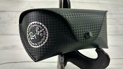 Ray Ban Black Carbon Fiber Tech Sunglasses Case