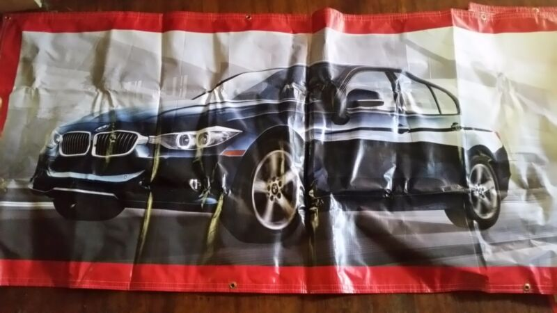 New shell gasoline banner.100 bmw,s in 100 days.16