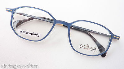 Silhouette Model Glasses Brands Frame Extra Lightweight Blue Mehreckig Size (Lightweight Glasses Brands)