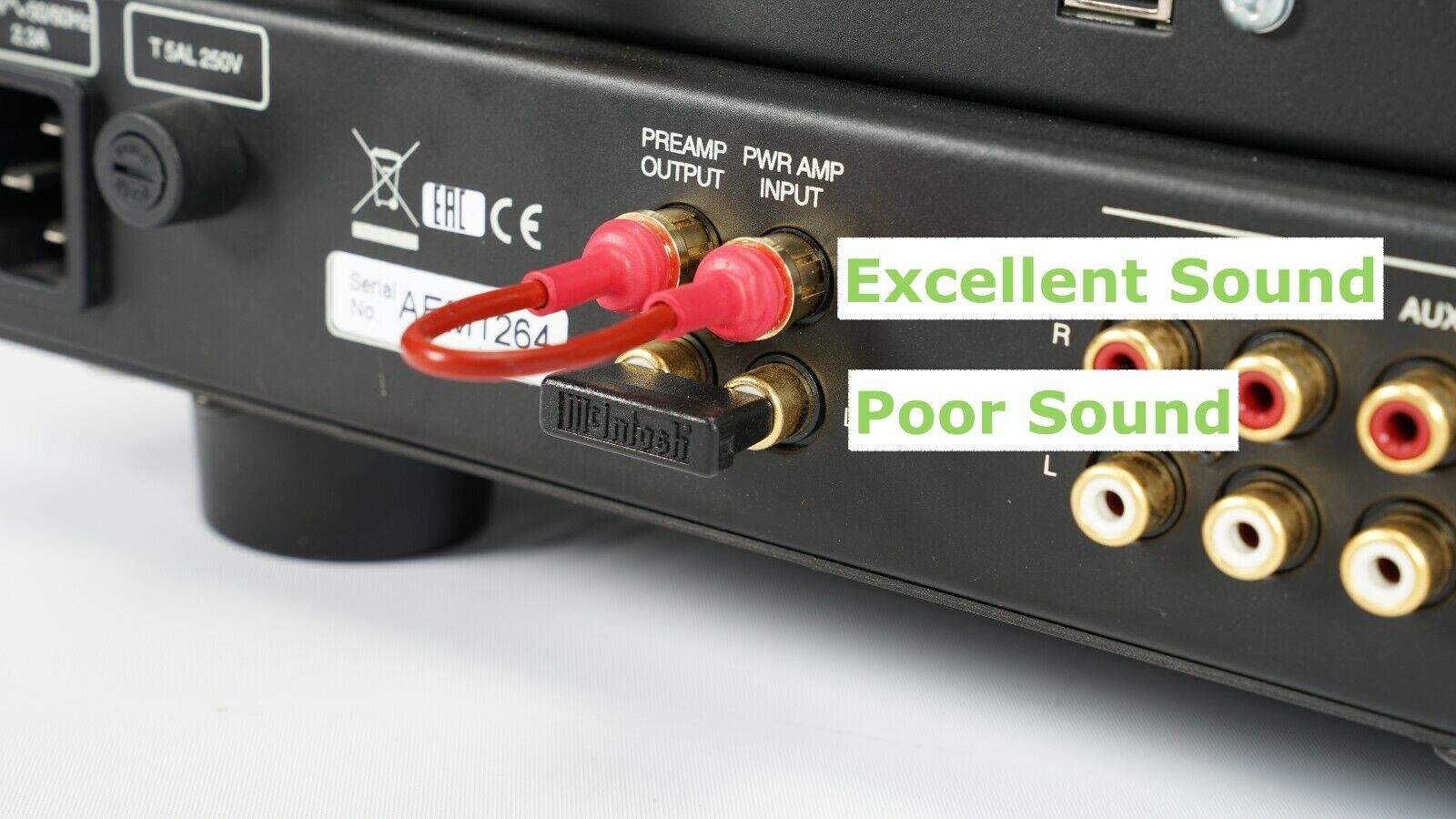 gold receiver integrated amp upgrade rca audio