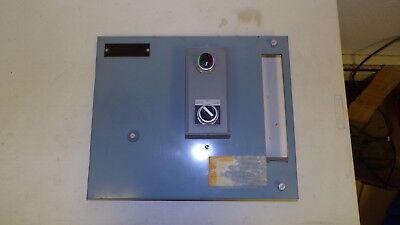 Allen Bradley Enclosure Panel W Switch 13 X 15-58 Hole Size 8-14x1-58