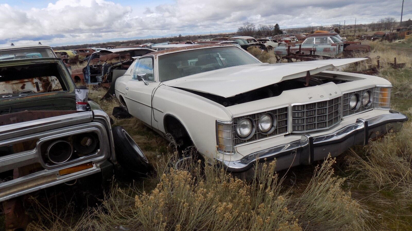 Used Ford Ltd Exterior Parts For Sale 1970 Crown Victoria 1973 Right Door Lock Rod 2 Dry Desert Western Part