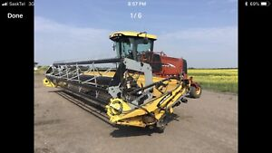 2007 New Holland Swather