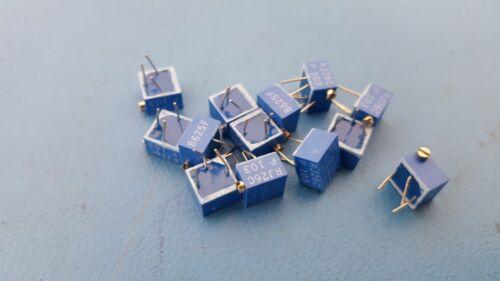 Trimmer Resistors, Through Hole, 10K ohm, Bourns, 3262W Series, RJ26CP103, 35Pcs