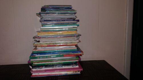 LOT OF 100...DISNEY, DORA, POOH, BARBIE, SCHOLASTIC ETC...CHILDREN BOOKS