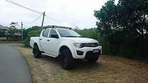MUST SELL! 2014 Mitsubishi Triton Ute Mountain Creek Maroochydore Area Preview