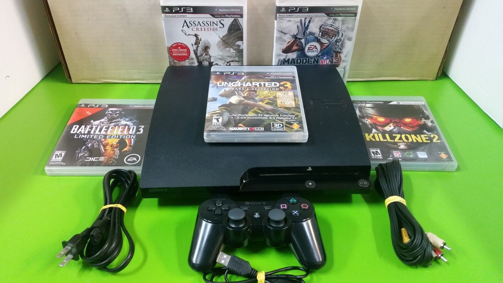 Playstation 3 - Playstation 3 PS3 120, 160, 250, 320, 500gb with games