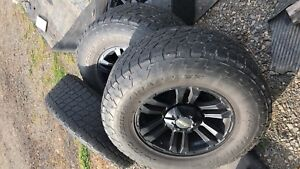 """17"""" rims and tires"""