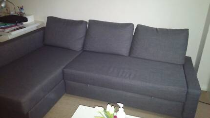 Ikea sofa bed with chaise Chatswood Willoughby Area Preview