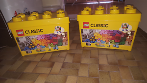 X2 Lego Storage Tubs  (Tubs Only) Sunshine North Brimbank Area Preview