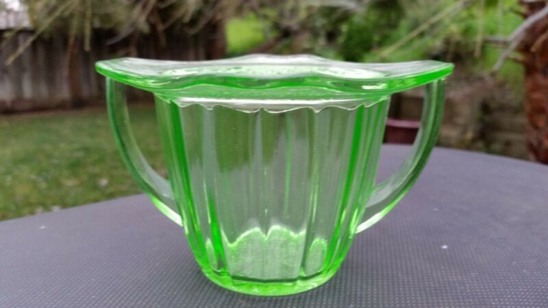 Green Adam Sugar Bowl