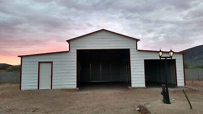 Pre-fabbarnssteel Buildingscarportsgaragesrv Portsstorage Shedsbarns Kits