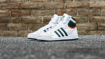 Authentic New Adidas Originals Top Ten Hi ® ( Men All Size UK 8 -11) White/Green