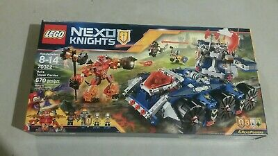 Nexto Knights Lego Set - Axl's Tower Carrier