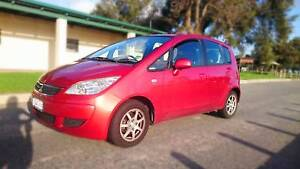 2007 Mitsubishi Colt LS RG Auto MY07 Red East Victoria Park Victoria Park Area Preview