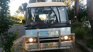 1984 Toyota coaster Motorhome, diesel, solar, toilet, shower, Belgrave Yarra Ranges Preview