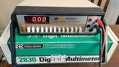 Digital Desktop Multimeter Bk Precision 2830