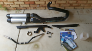 2013  nightrod exhaust complete, handlebars, assorted bits. Port Kennedy Rockingham Area Preview