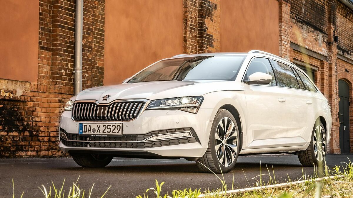 Skoda Superb 3 (2019) Test  8