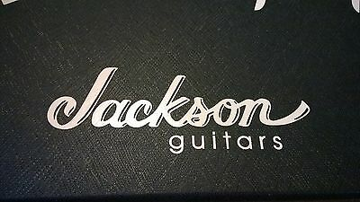 Jackson Guitars Logo Sticker Decal for Hard Case, Amp Cabinet, Guitar