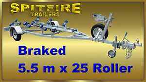 5.6M Braked HDG Boat Trailer 1500kg ATM - $2999 (inc walkway) Tweed Heads Area Preview