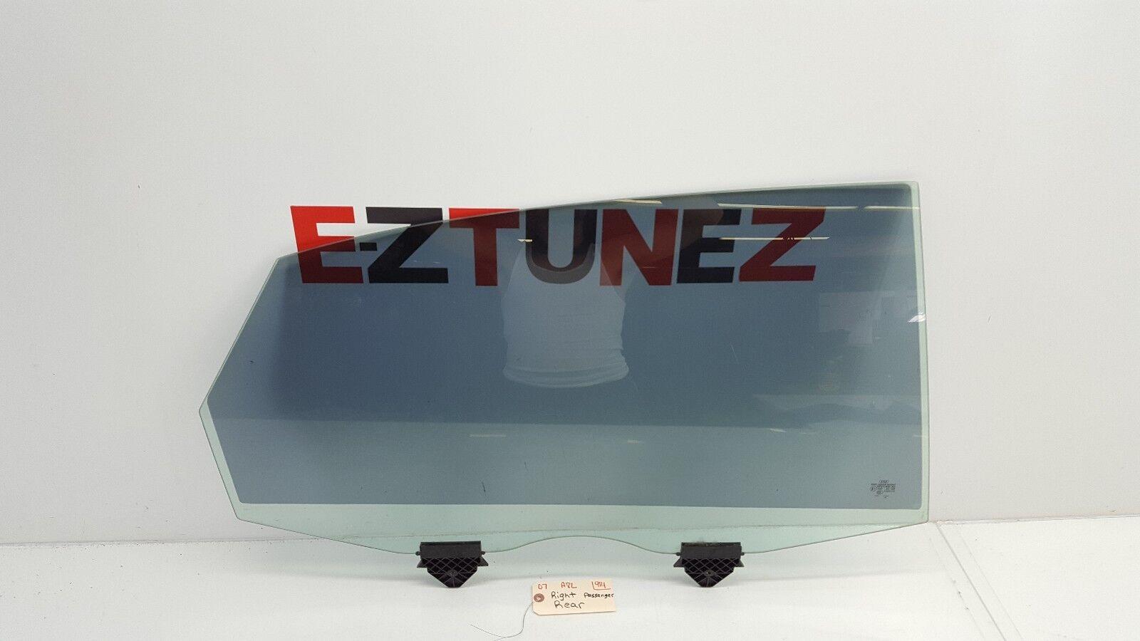 2004-2009 AUDI A8L RIGHT PASSENGER REAR SIDE DOOR WINDOW GLASS W-TINT OEM