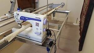 John Watts Quilting Machine on John Watts Quilting Frame Mittagong Bowral Area Preview